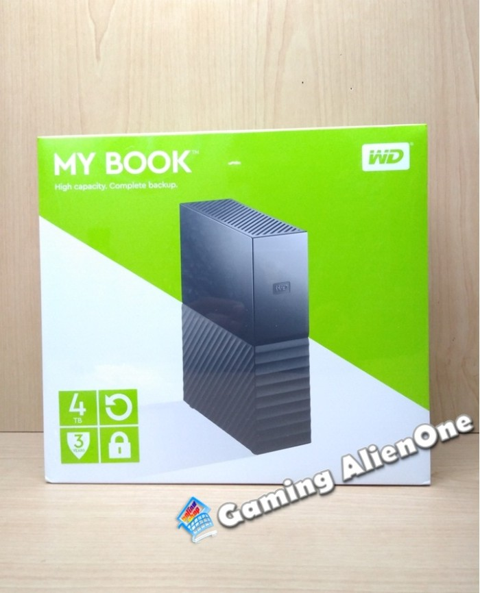 harga Wd My Book 4tb - Hdd Hd 4 Tb Hardisk Harddisk Eksternal External 3.5