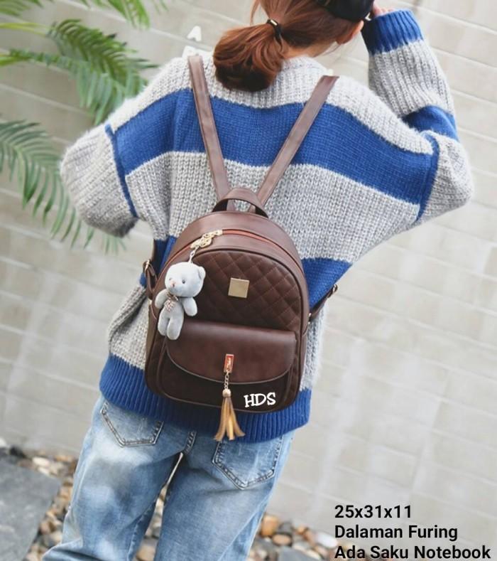 Foto Produk Backpack kotak rumbai 3in1 dari Then4Shop