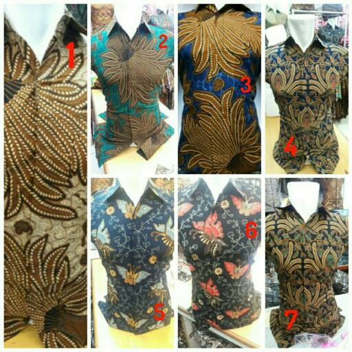 Jual Kemeja Baju Batik Pria Kerja Kantor Seragam Ika Fashion Tanah