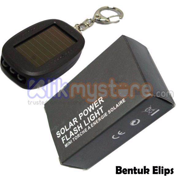 [Promo] Gantungan Kunci Tenaga Matahari / Solar Keychain