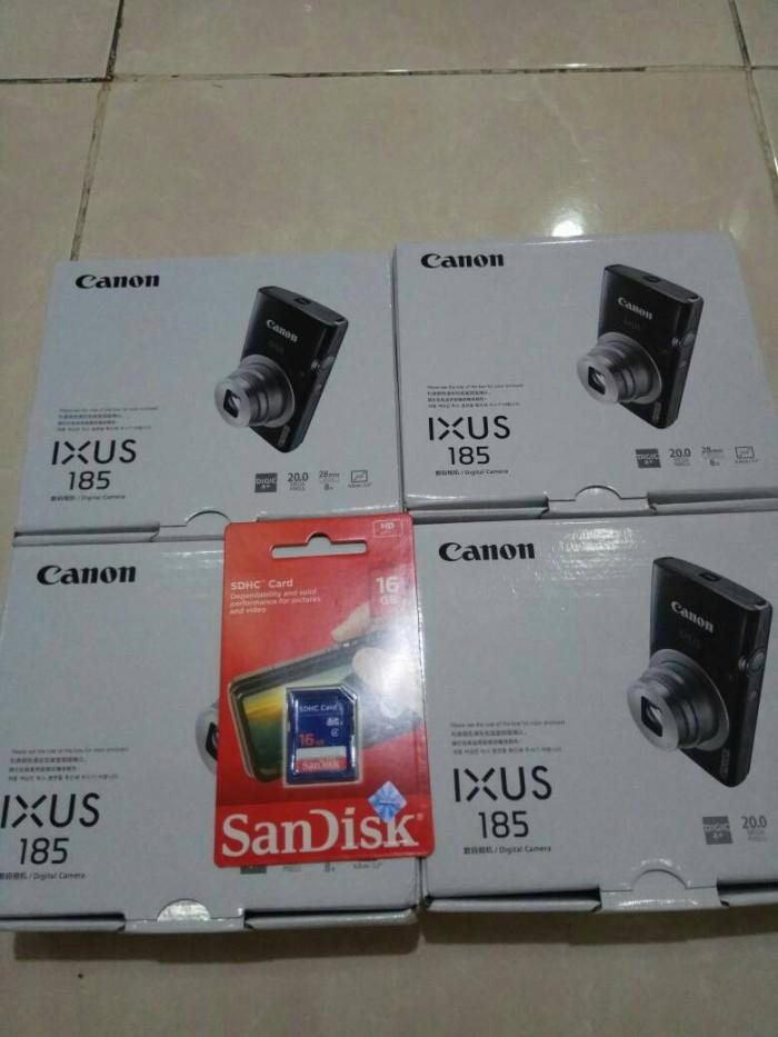 harga Canon ixus 185 resmi free sandisk 16 gb Tokopedia.com