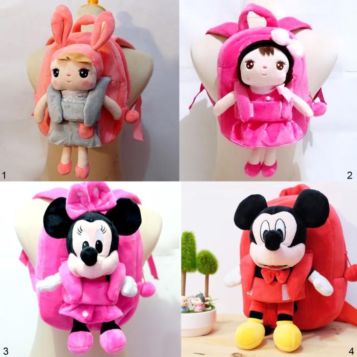 harga Ransel boneka angela pretty metoo princess minnie mouse baby paud Tokopedia.com