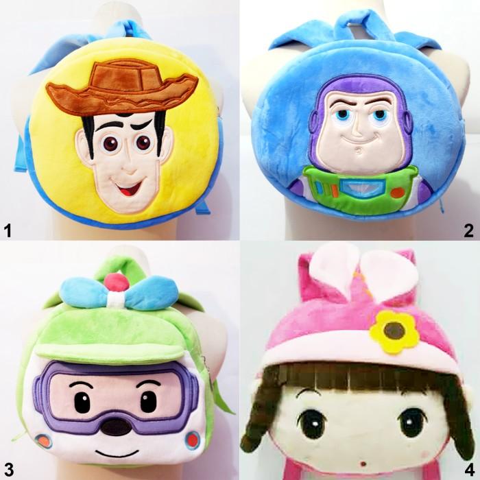 harga Ransel boneka poli pesawat woody buzz pretty toy story sekolah anak Tokopedia.com