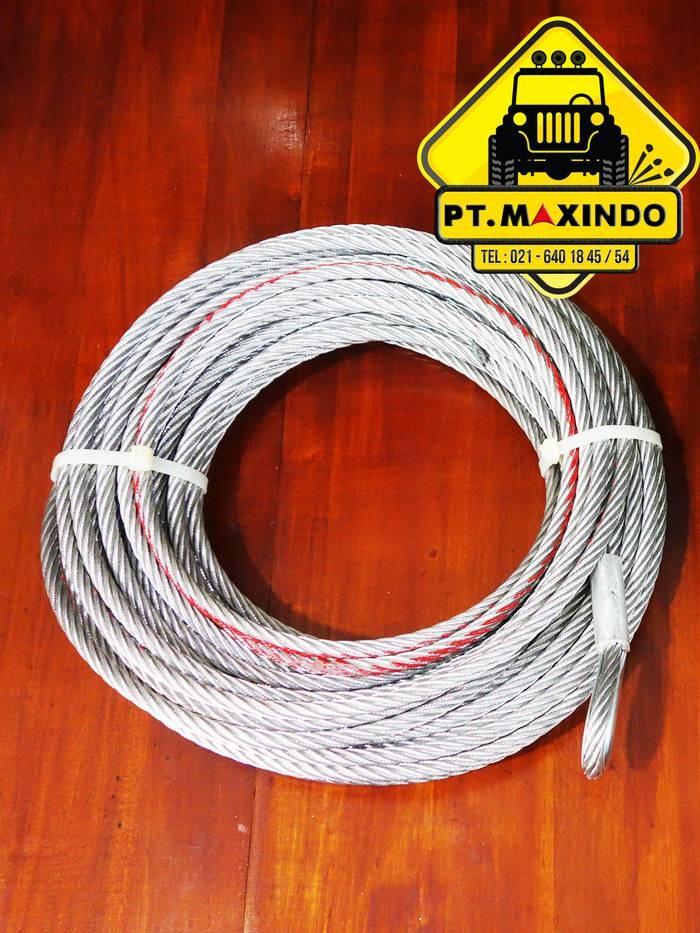 harga T-max tali sling baja 82mm x 40m bisa untuk winch warn 8274 Tokopedia.com