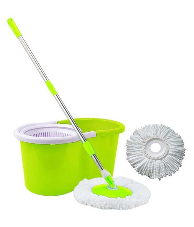 harga Alat Pel 360 Magic Mop Twist Super Easy Clean - Hijau Tokopedia.com