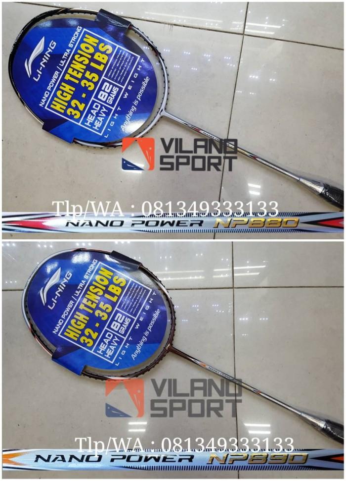 harga Raket badminton lining nano power 880/890 Tokopedia.com