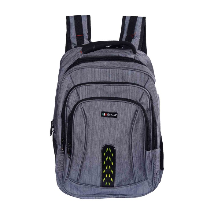 harga Tas ransel/backpack paviotti 6108(grey) Tokopedia.com