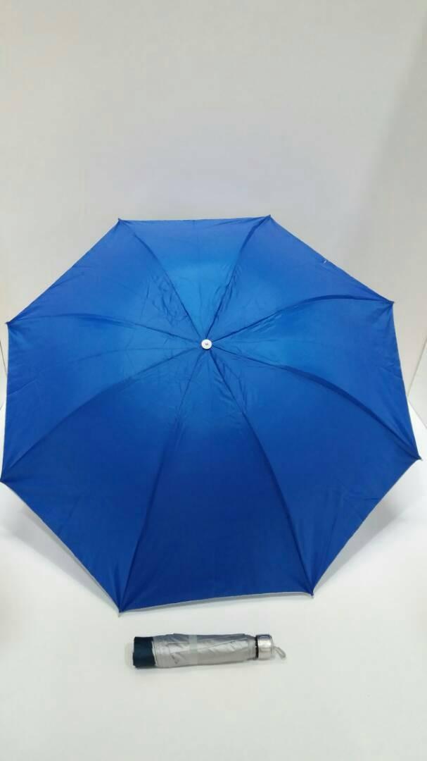 Payung lipat3 polos anti uv souvenir