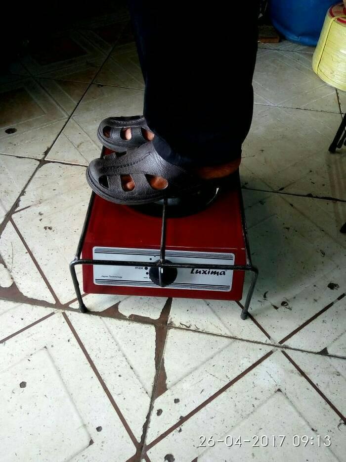 Foto Produk kaki kuda/dudukan oven tangkring/tatakan kompor gas dari irsya oll shop
