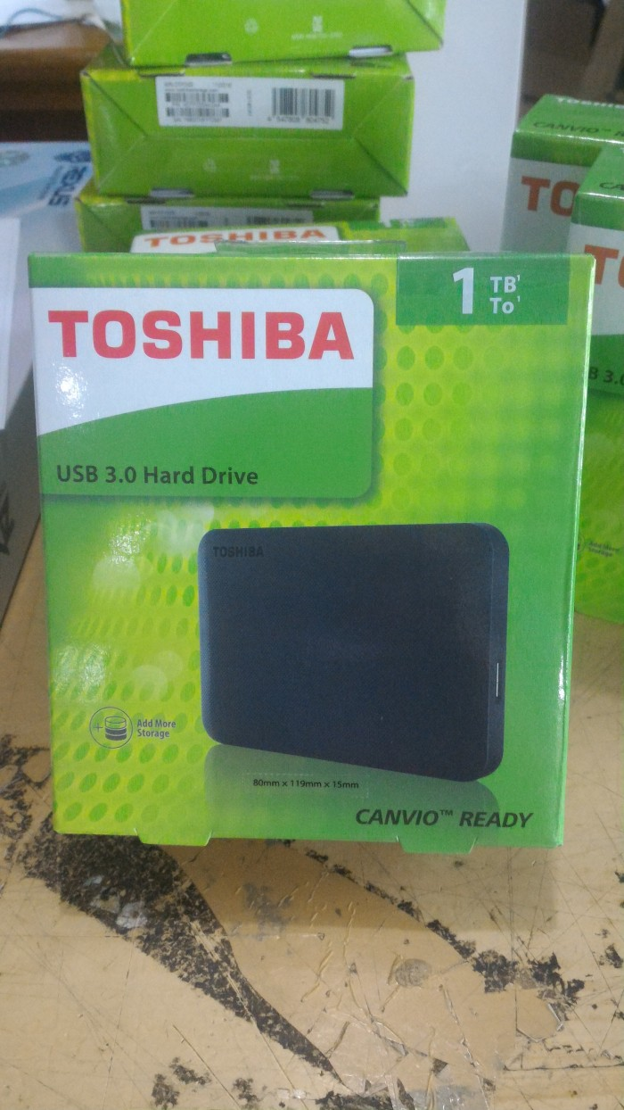 harga Hardisk external toshiba canvio simple 2.5  1tb usb 3.0 Tokopedia.com