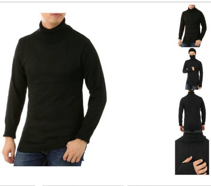 harga Sweater Rajut Ariel Turtle Neck 1j Fashion Keren Terbaru Kaos Santai Tokopedia.com