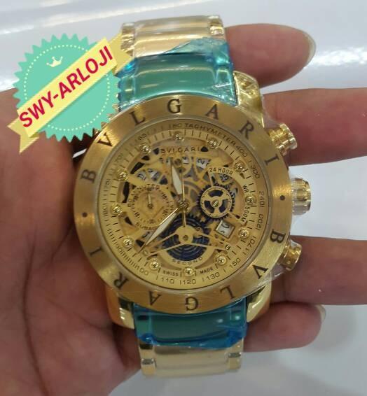 3254d33b969 Jam tangan bvlgari gold limited edition harga Jam tangan bvlgari gold  limited edition Tokopedia.com. Rp. 1050000