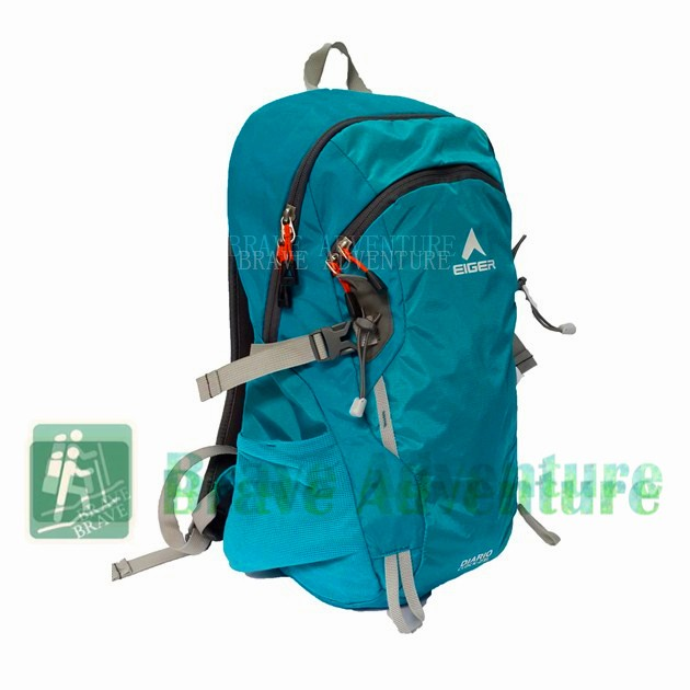 Tas Ransel Eiger Diario Clock 2326 Tosca Original Backpack Travelling 9b60780c82