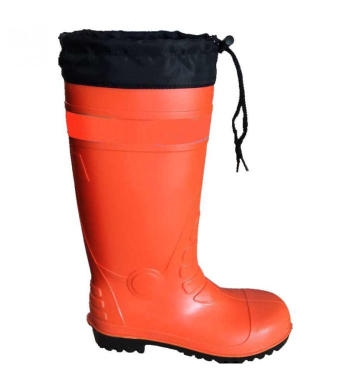 harga Sepatu boots safety (l/41-42) orange krisbow 10095005 Tokopedia.com