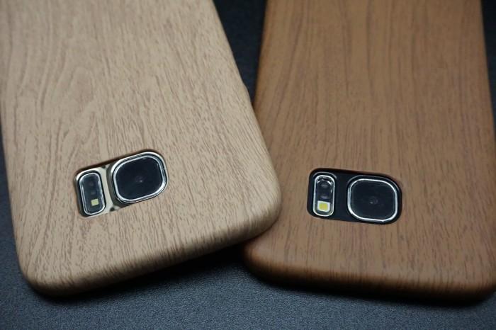 harga Ultrathin wood case samsung galaxy note 5 s6 edge s7 edge s8 s8 plus - cokelat muda s6 edge Tokopedia.com