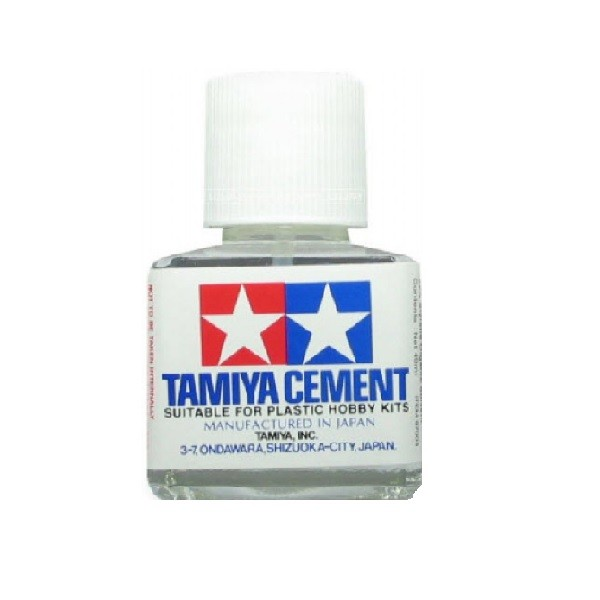 harga Tamiya - cement glue for plastic 40ml Tokopedia.com
