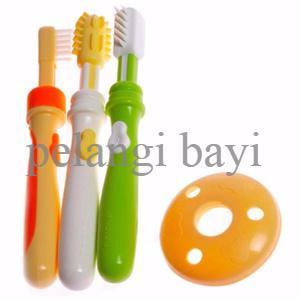 SUPER DISKON Sikat Gigi Bayi Pigeon Baby Training ToothBrush Lesson 12 62e229b12a