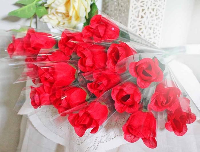Jual 1 tangkai setangkai mawar rose bunga plastik artificial A1-6 ... 44c6de93bd
