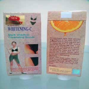 Whitening C Asli Obat Cream Pemutih Ketiak & Selangkangan