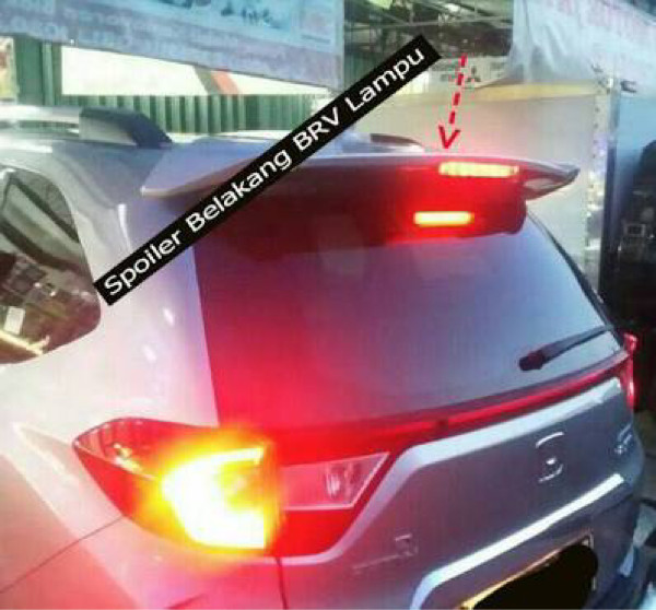Jual Spoiler Belakang Rear Spoiler Lampu Honda Brv Jakarta Pusat Mega Oriental Motor Tokopedia