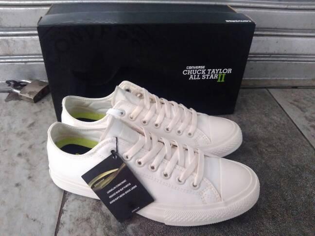 Jual Sepatu Converse All Star CT 2 Lunarlon White Premium Original ... dddd07b945