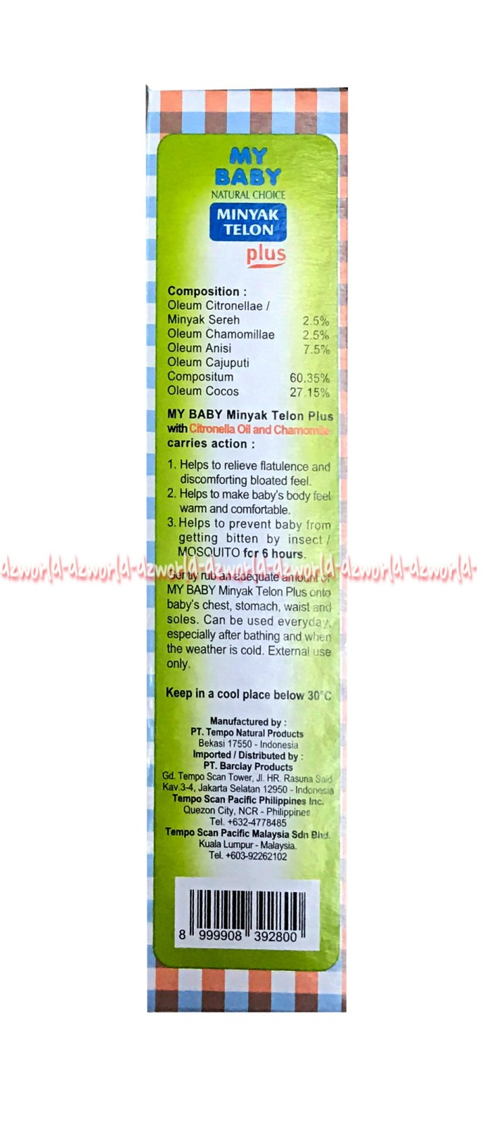 Free Tissue Basah My Baby Minyak Telon Plus Longer Protection 90 Ml 90ml Mtk033 Melindungi Anak Dari Gigitan Nyamuk 150ml
