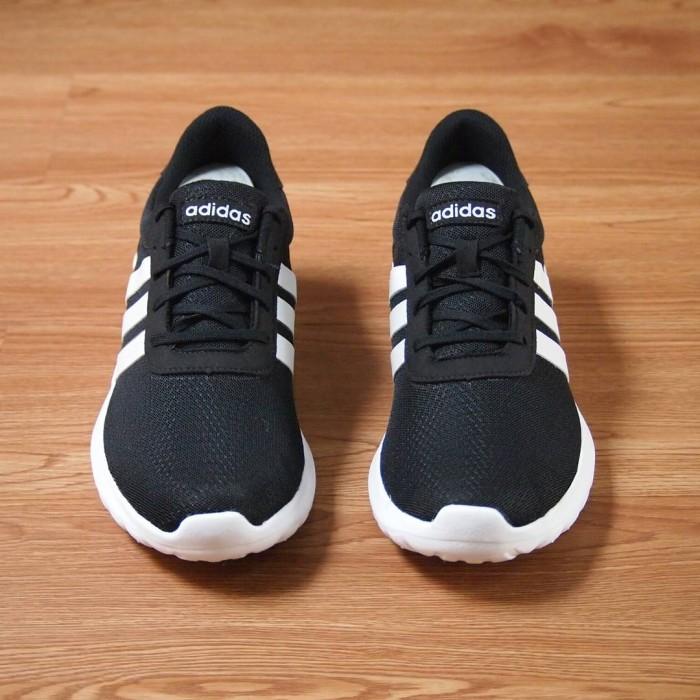 1d9127241acb ... italy sepatu adidas original neo cloudfoam lite racer black white deaff  0312d