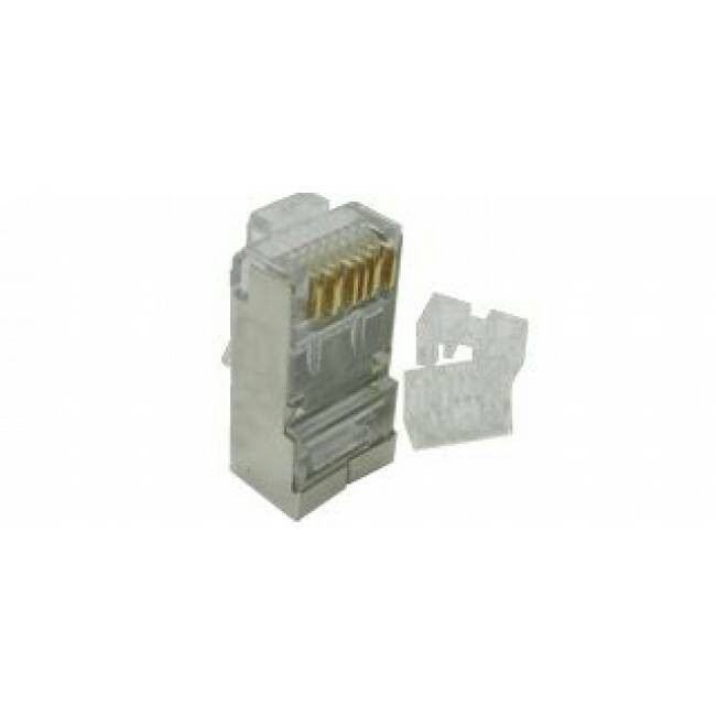 harga Connector/sambungan rj 45+aluminium+karet cat 6 original belden isi 10 Tokopedia.com
