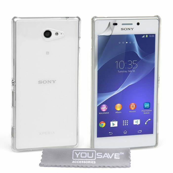 Sony Xperia M2 D2305 / jazz Soft Case Casing Cover