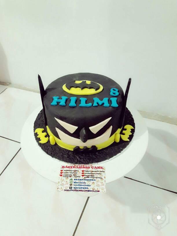 Jual Kue Ulang Tahun Batman Cake Fondant Jakarta Timur Novlauwcake Tokopedia