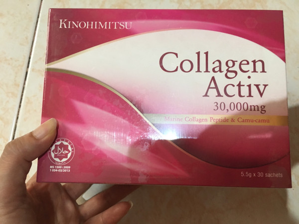 harga Kinohimitsu collagen activ 30.000mg Tokopedia.com