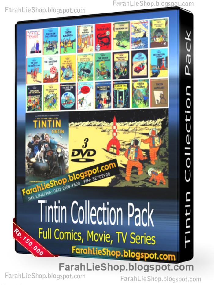 harga Tintin collection pack dvd komik movies tv serial tintin all in one Tokopedia.com