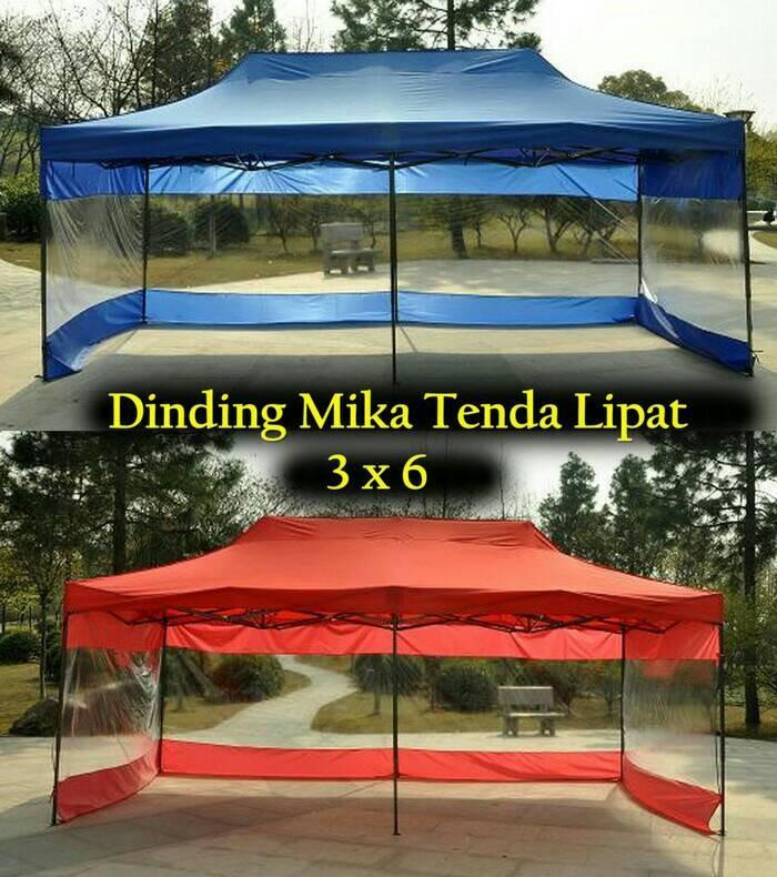 Jual Tenda Lipat Ukuran 3x6 Plus Dinding Mika Transparan Kota Bogor Keisha Store Tokopedia