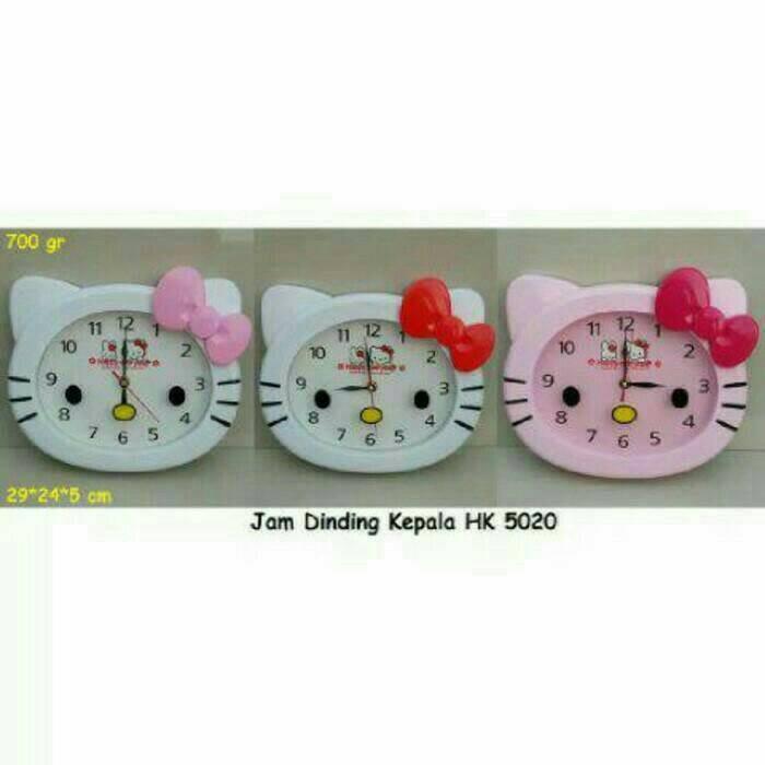 harga Jam dinding karakter hello kitty Tokopedia.com