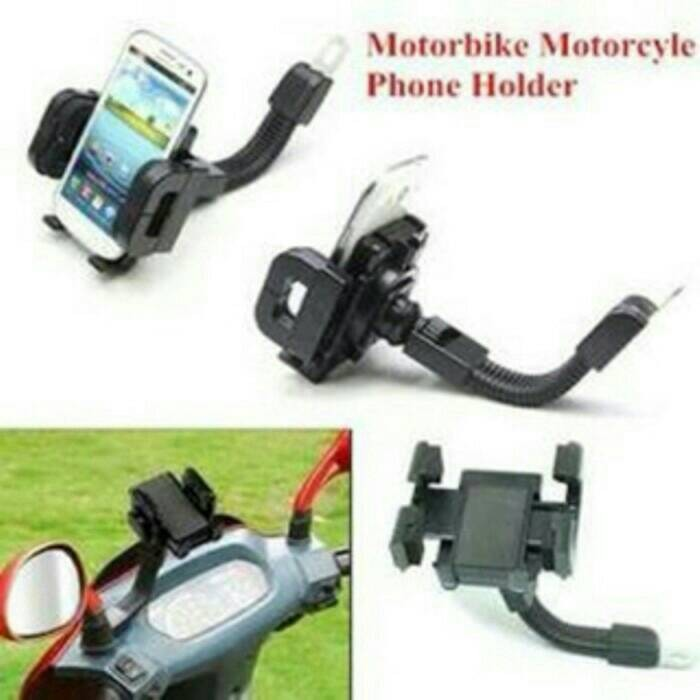 harga Fly holder hp / handphone spion motor / bracket gojek Tokopedia.com