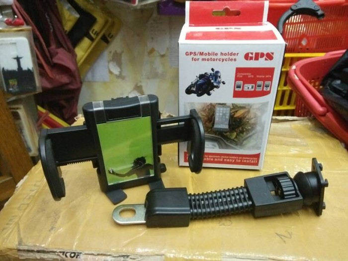 harga Gps holder hp / handphone spion motor / bracket gojek Tokopedia.com