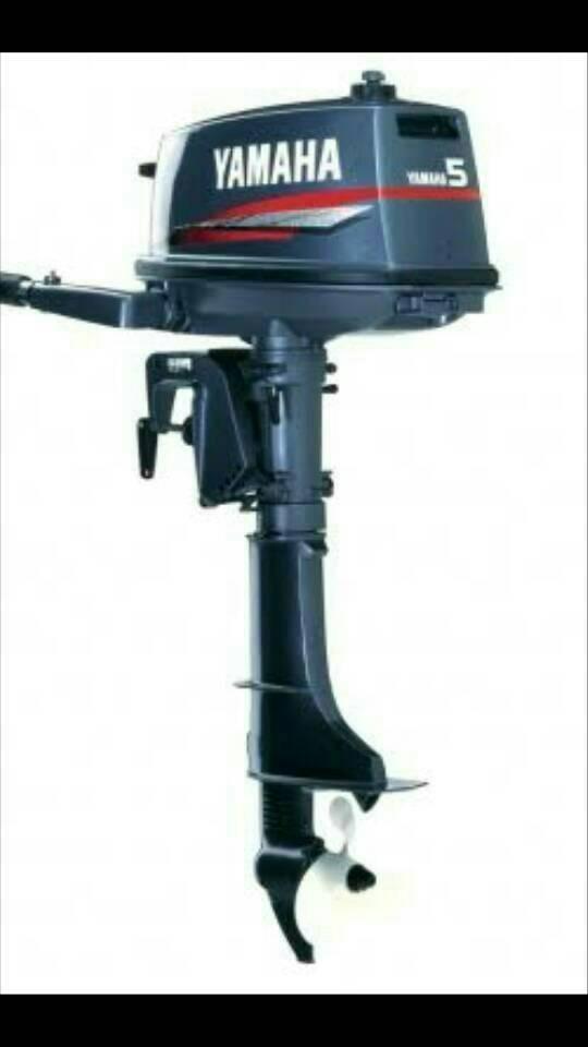 Foto Produk mesin tempel outboard yamaha 5 hp 2 tak dari dunia selam