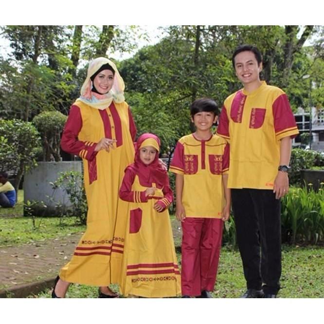 Jual Busana Muslim Anak Nibras Nsa 24 L Kuning Original Baju Koko