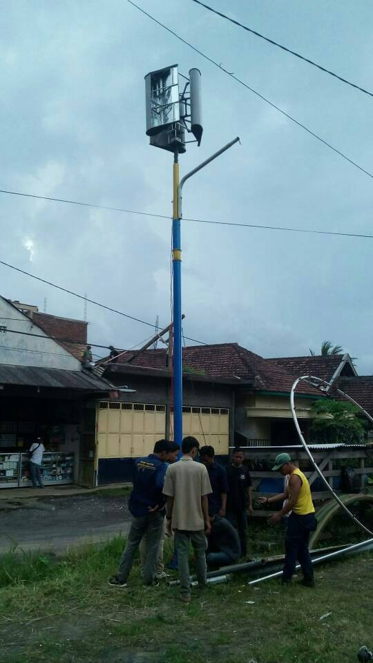 Jual Kincir Angin VERTIKAL untuk PLTB (Vertical Axis Wind Turbine) - Kota  Yogyakarta - EnArchi Energy | Tokopedia