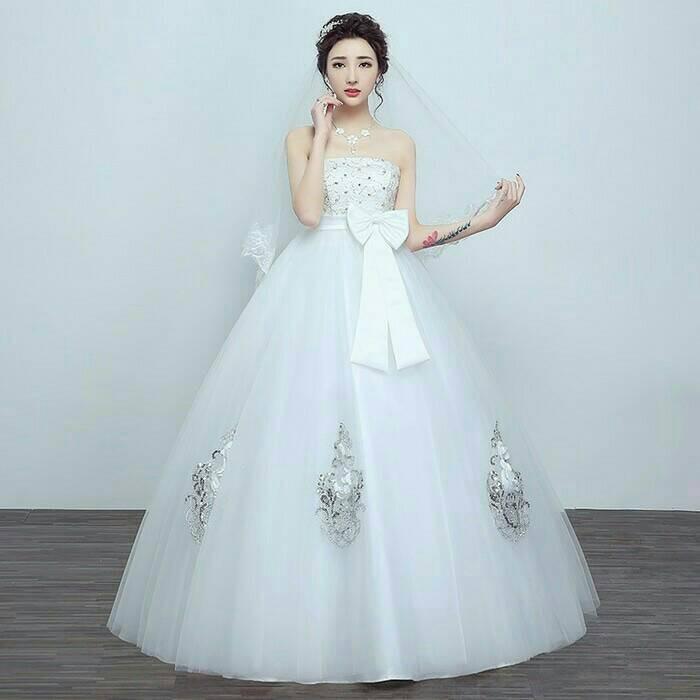 Wedding Gown Surabaya: Gaun Nikah (kode:3302)