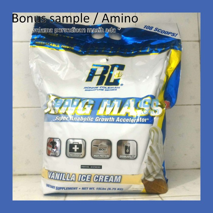 Ronnie Coleman King Mass 15 Lbs / 15lb 15lbs cole lb kingmass rc XL