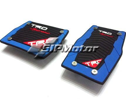 Foto Produk Pad/Cover Pedal Mobil Matic TRD Sportivo Kotak Biru dari SIPMotor