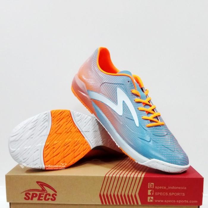 Sepatu Futsal SWERVO THUNDERBOLT IN Squadron Spirit Orange White ASLI cc78f14d43