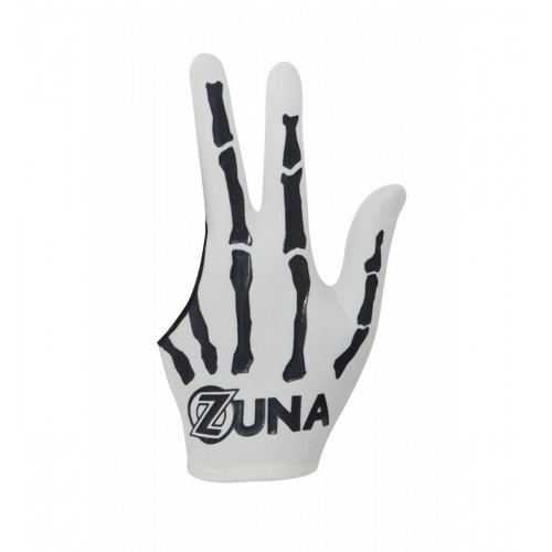 harga Sarung tangan billiard zuna unisex x-ray full finger - putih Tokopedia.com