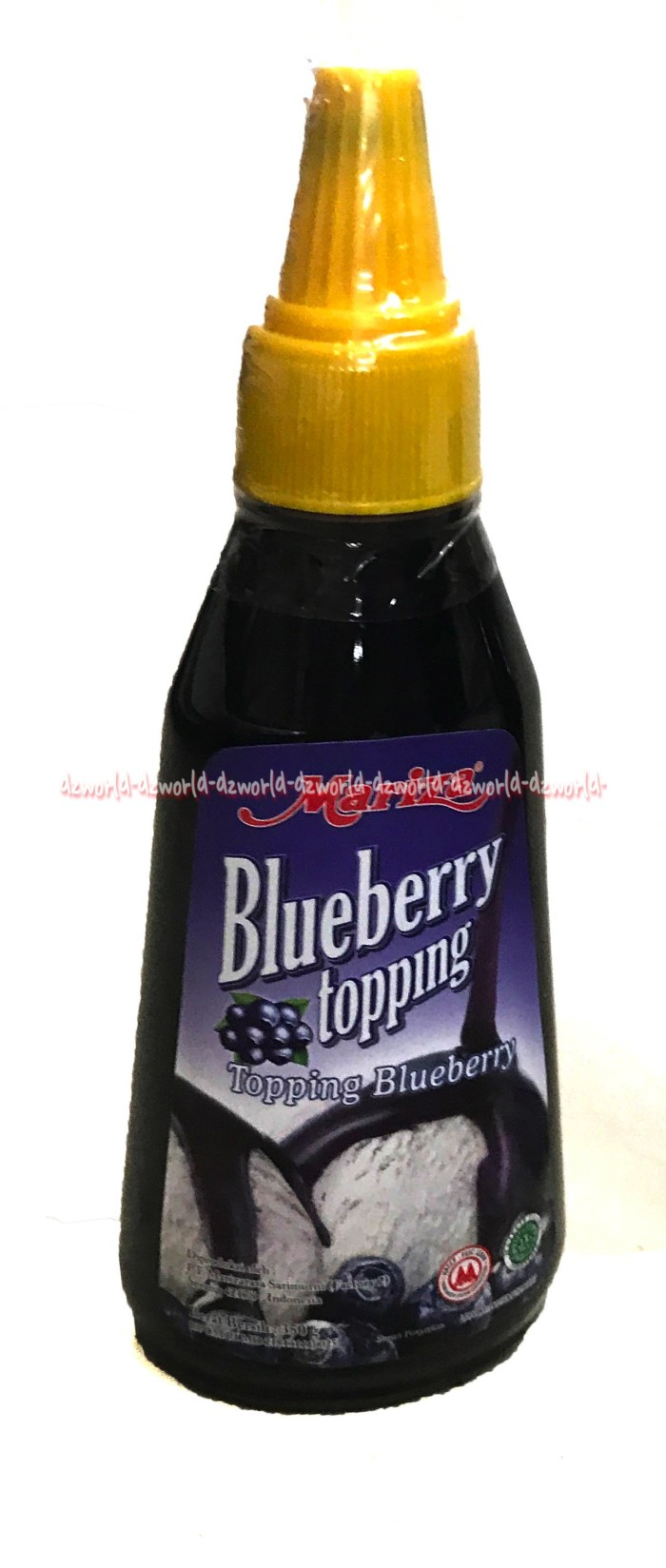 Mariza blueberry topping bisa dipadukan buat makanan atau minuman 350g