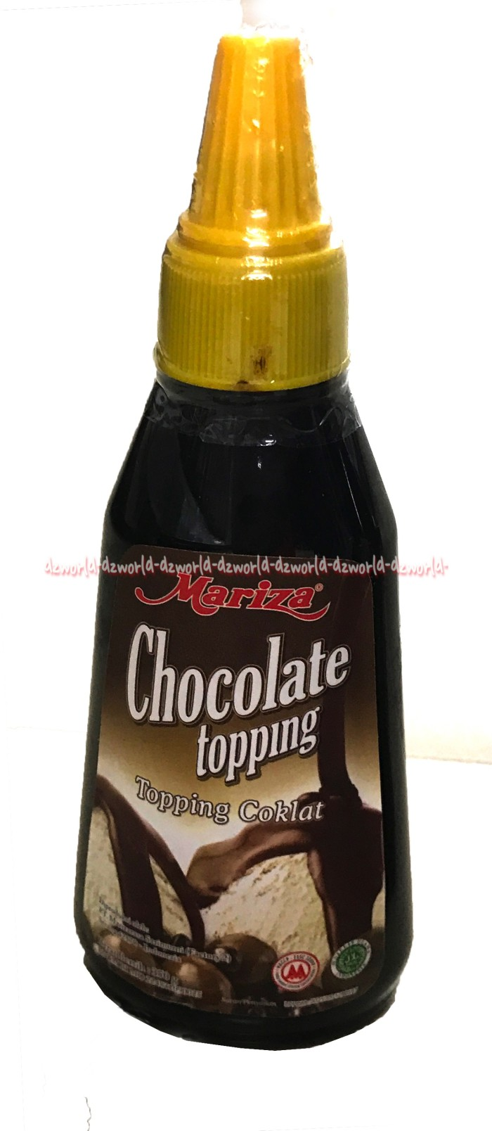 harga Mariza chocolate topping bisa dipadukan buat makanan atau minuman 350g Tokopedia.com
