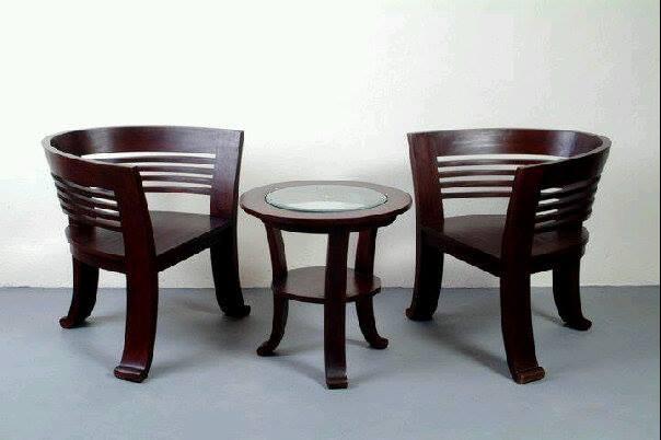 harga Kursi teras set dan meja, kayu jati minimalis modern jepara Tokopedia.com