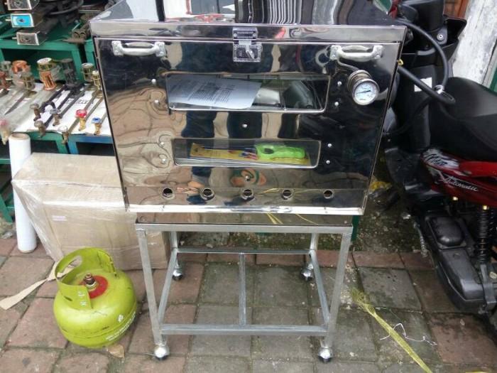 Foto Produk oven gas murah 60x40 + termometer via ekpedisi dari majdi syarif