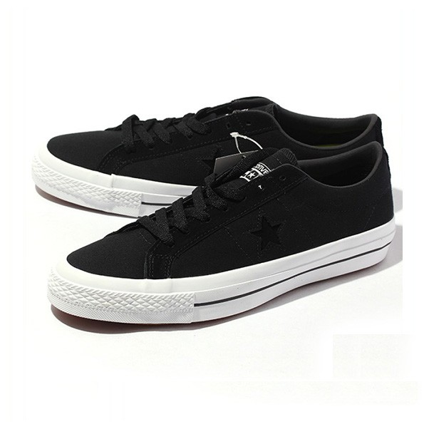 53f0cacbc8f03d Sepatu converse cons one star pro ox black canvas 153710c original ...
