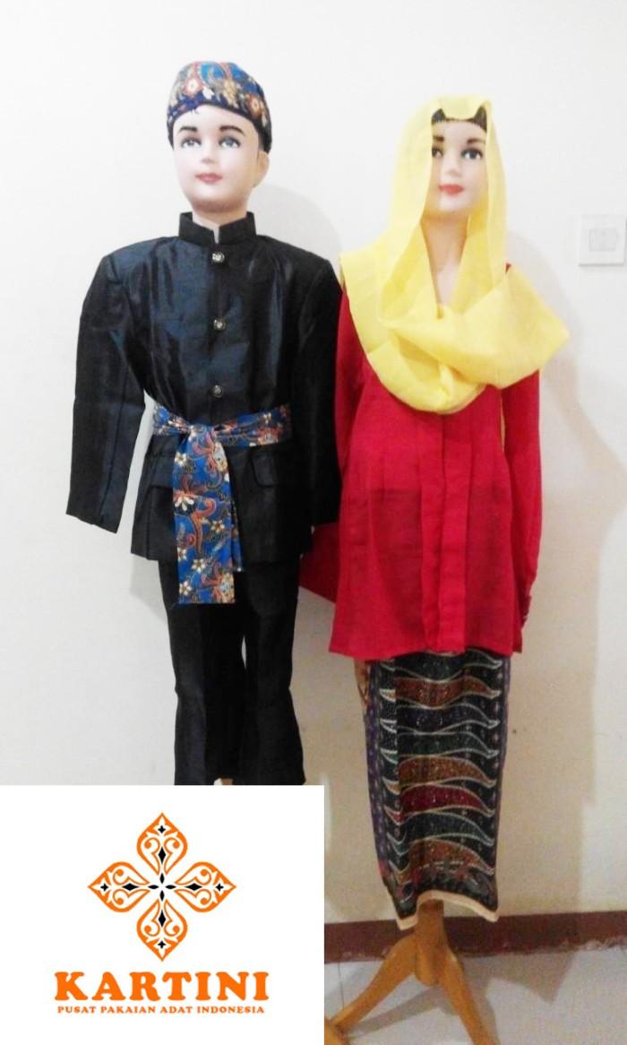 Jual Pakaian Adat Baju Adat Abang Betawi Laki Laki Dki Jakarta